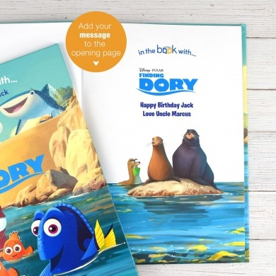 Finding Dory Personalised Book