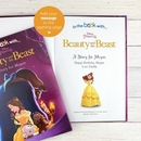 Disney's Beauty and the Beast Personalised book