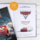 Disney's Cars 3 Personalised Books