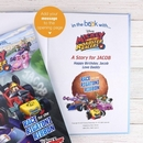 Mickeys Roadster Racers Personalised Book