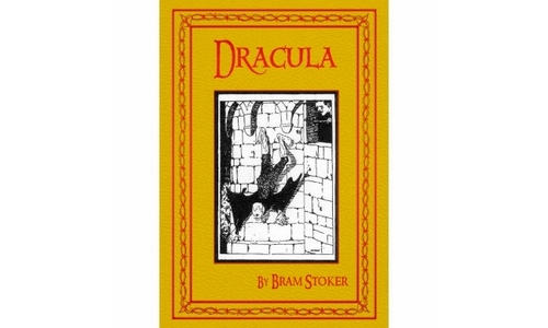 Dracula Personalised Hardback Book With Gift Box