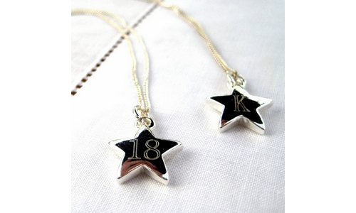 Personalised Batang Star Necklace