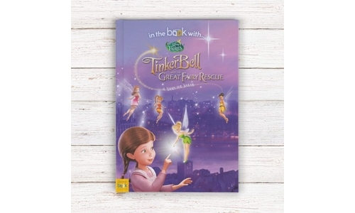 Disney Fairies Tinkerbell and the Great Fairy Rescue Soft Back Book