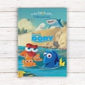 Finding Dory Soft Back Book With Gift Box