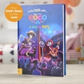 Disney's Coco Hard Back Book With Gift Box