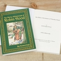 The Merry Adventures of Robin Hood Personalised Softback Book With Gift Box