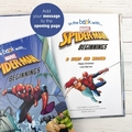 Spiderman Beginnings Personalised Softback Book