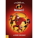 Disney Pixar Incredibles 2 Personalised Softback Book With Gift Box