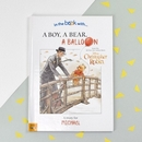 A Boy, A Bear, A Balloon Personalised Softback Book With Gift Box
