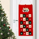 Elf Personalised  Felt Advent Calendar