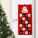 Santa Personalised Felt Advent Calendar