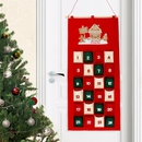 Gingerbread House Personalised Felt Advent Calendar