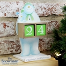 The Snowman and the Snowdog Personalised Perpetual Advent Calendar
