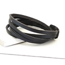 Men's Leather Wrap Bracelet