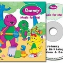 Barney Personalised Music