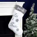Personalised Let it Snow Stockings